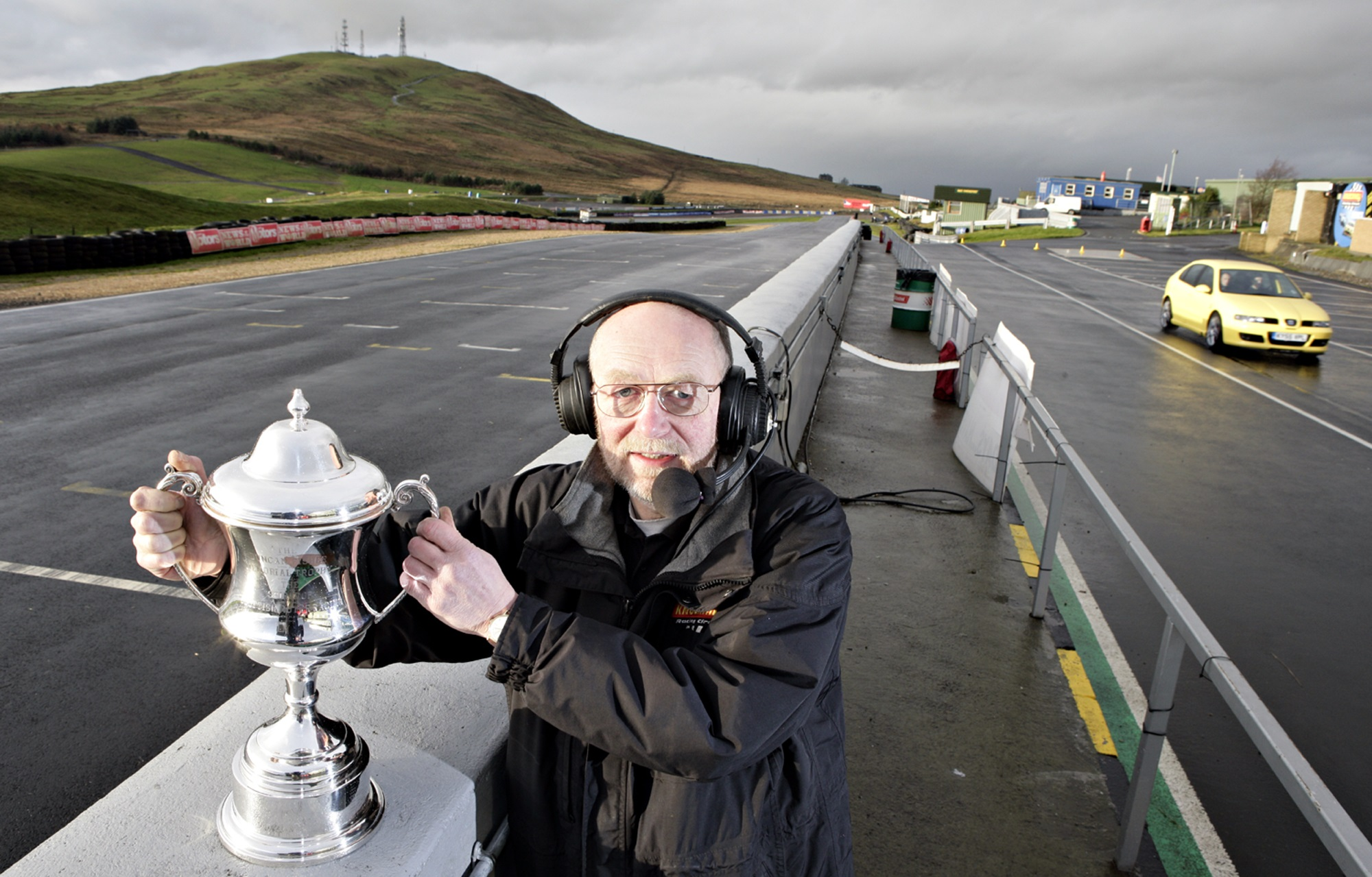 Garry Stagg, a stalwart of the motor racing scene at Knockhill.