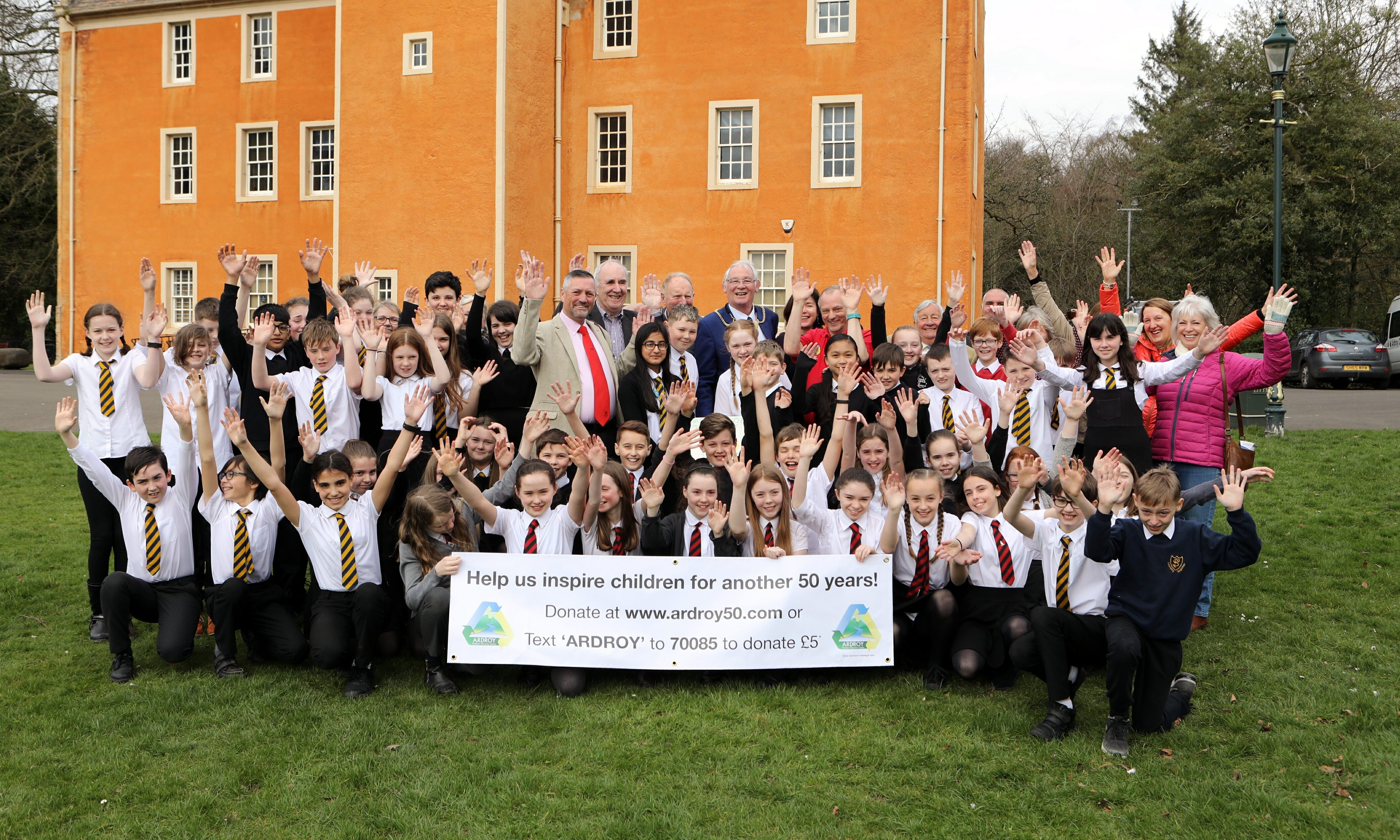 The 50th birthday celebrations of Ardroy Outdoor Education Centre.