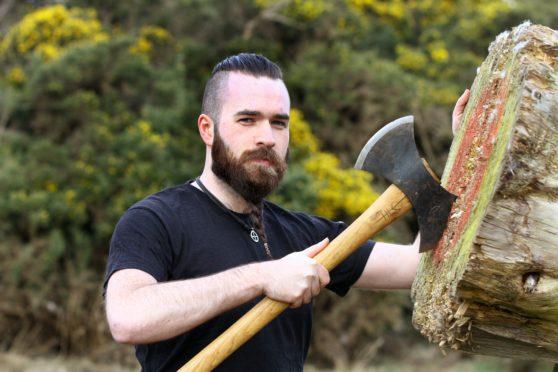 Jamie Keddie is a member of Braveheart Axe Throwing.