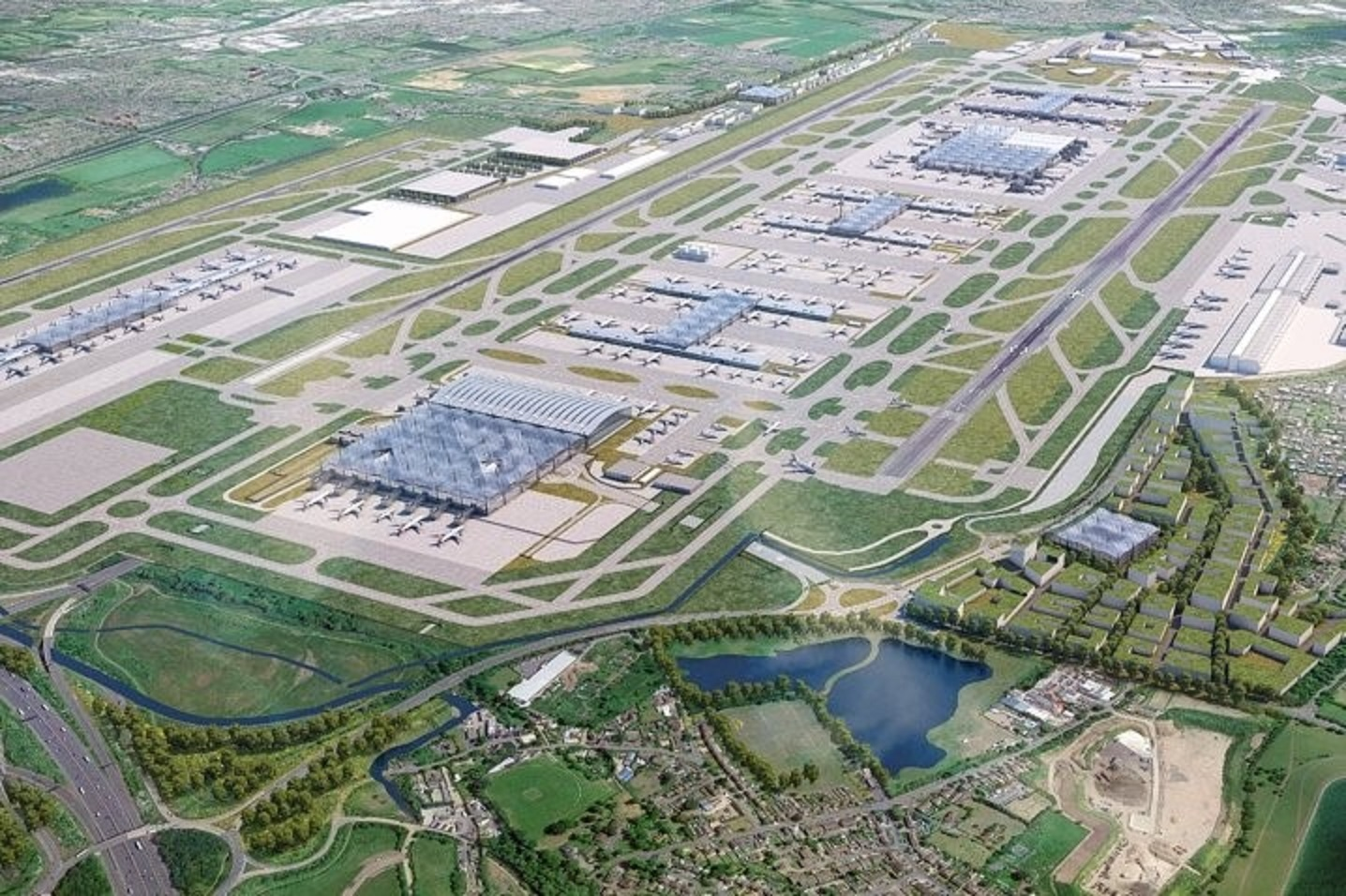 The third runway project will be one of Britain's largest infrastructure projects.