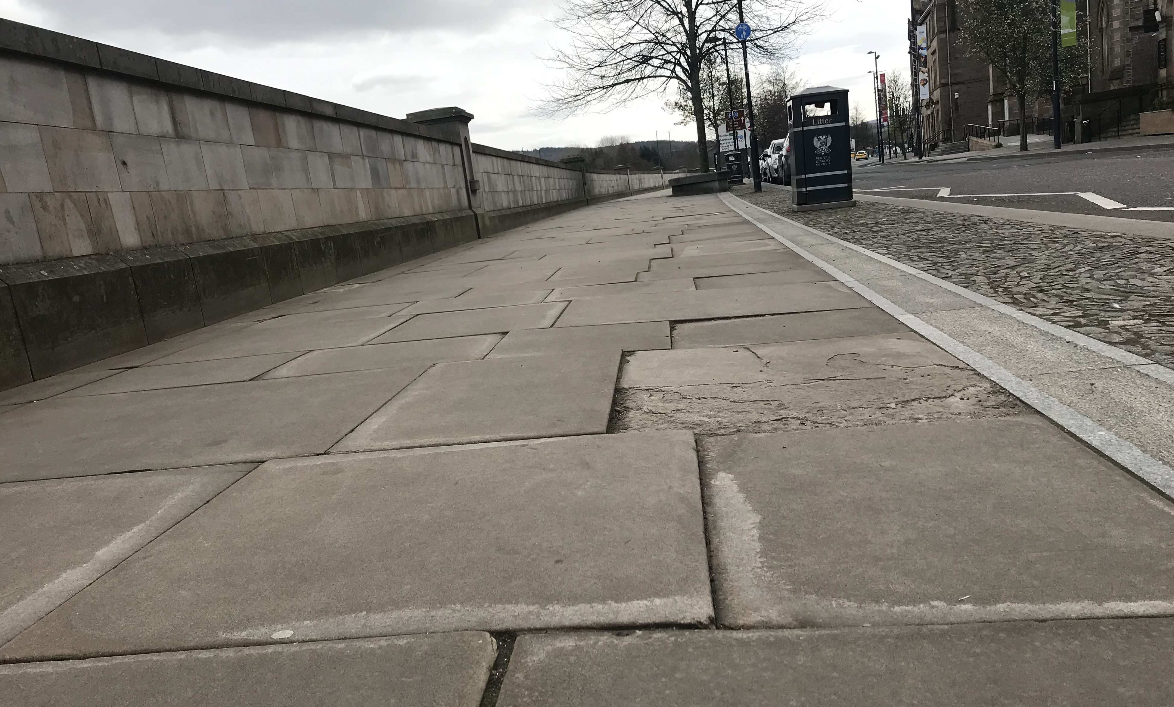 Perth Civic Trust wants the council to target paving on Tay Street
