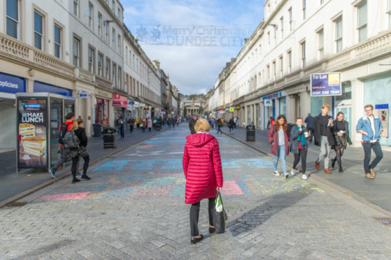 Reform Street in Dundee is likely to be boosted by the cash injection