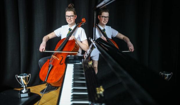 Arbroath Music Festival - Zoe Rennie from Arbroath HS.