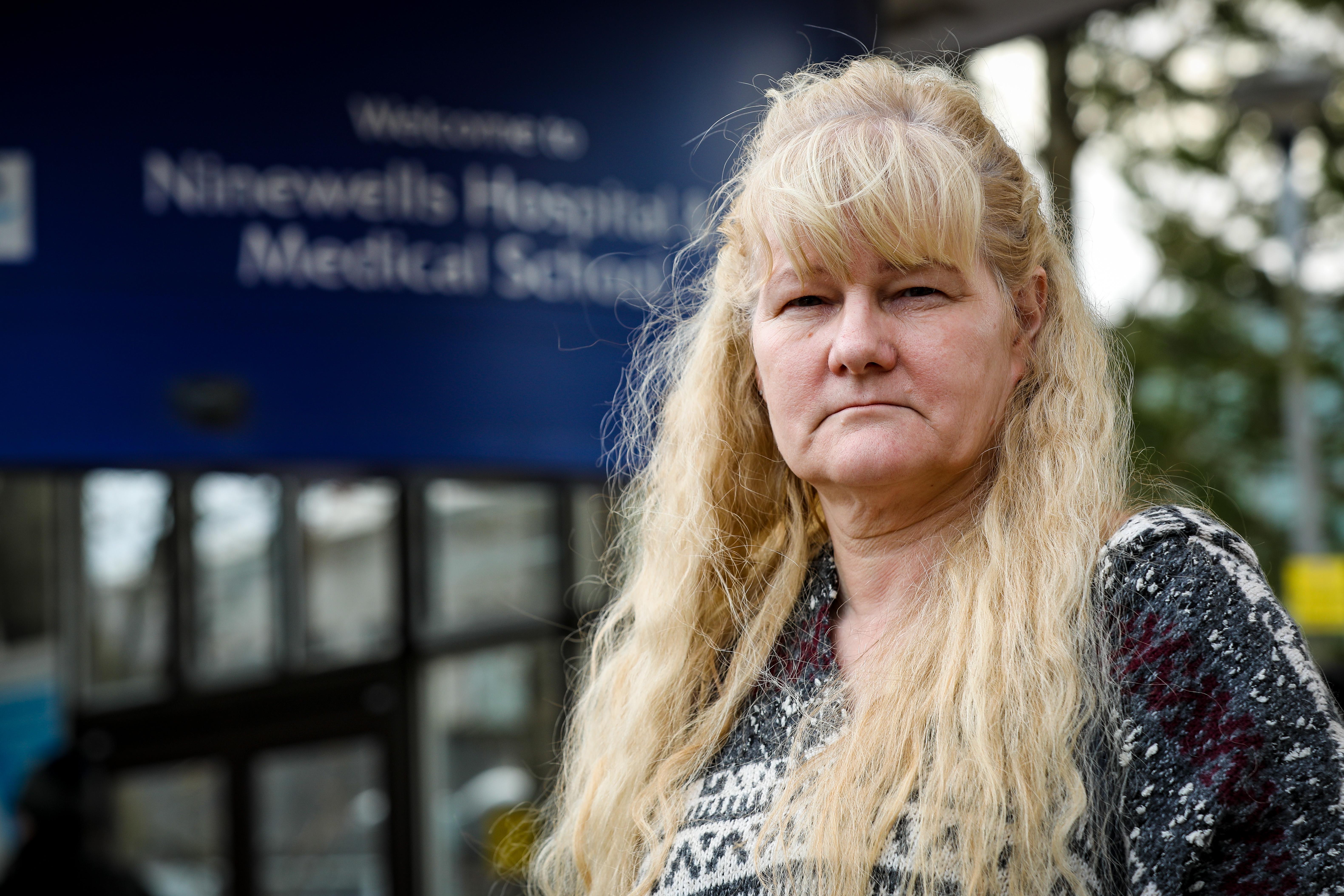 Angela Wright at Ninewells Hospital