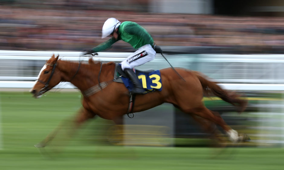 Concertista ridden by Willie Mullins in the National Hunt Breeders Supported By Tattersalls Mares' Novices' Hurdle.