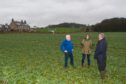 Aberdour residents opposed to the development at the site.
