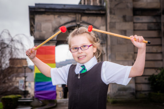 Holly Bradbury, from Cardenden, Fife, took part in the first day of competition.