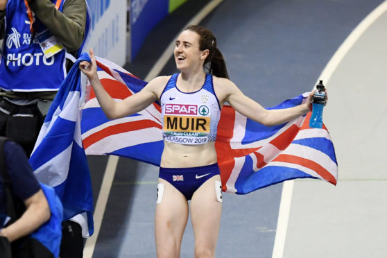 Laura Muir is in fine form as she bids for another record