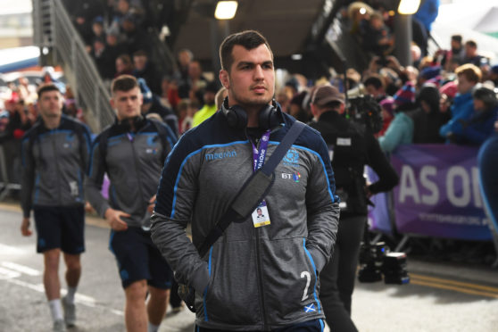 Scotland captain Stuart McInally will play for the first time at Twickenham.