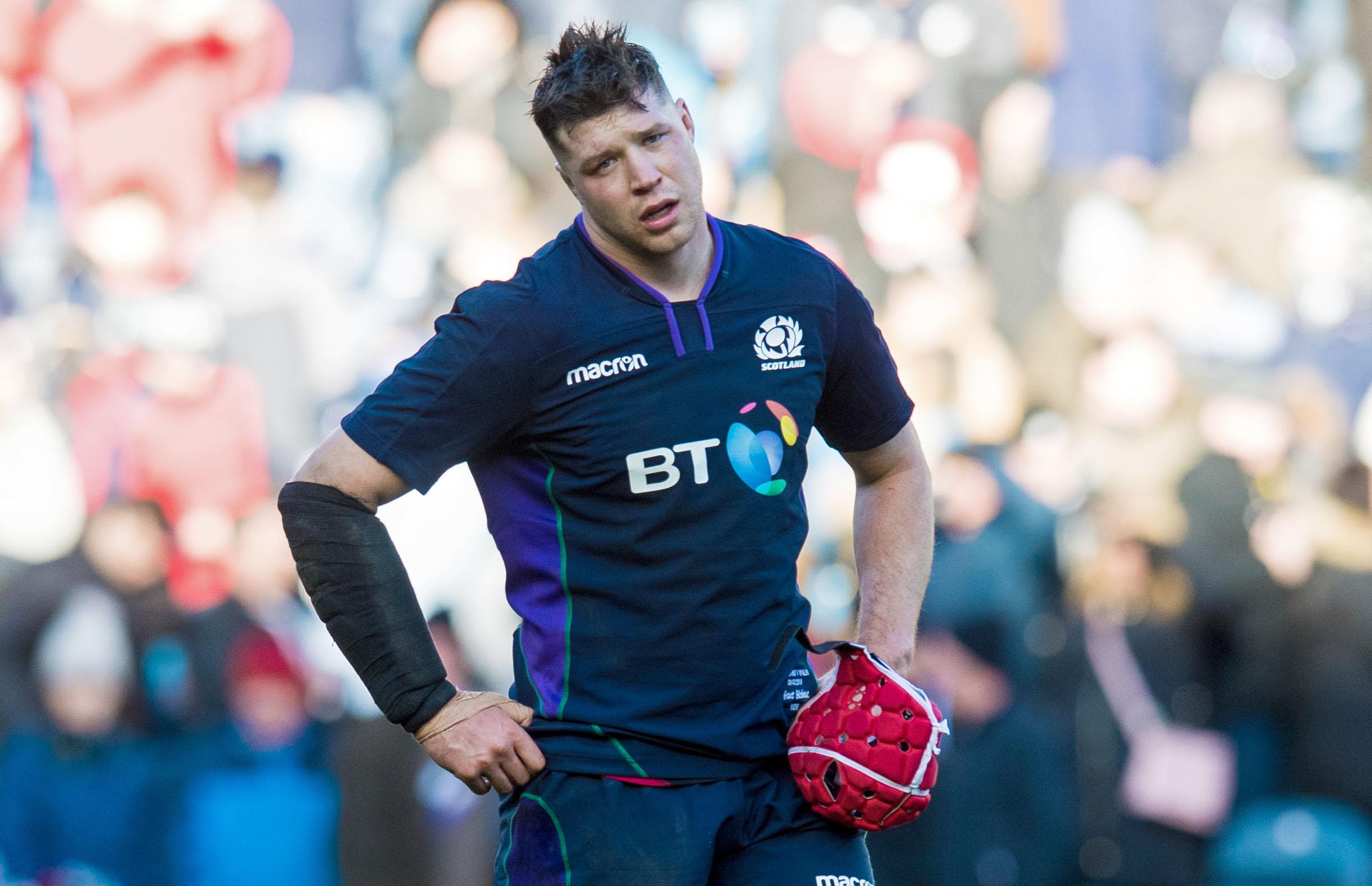 Scotland's Grant Gilchrist.