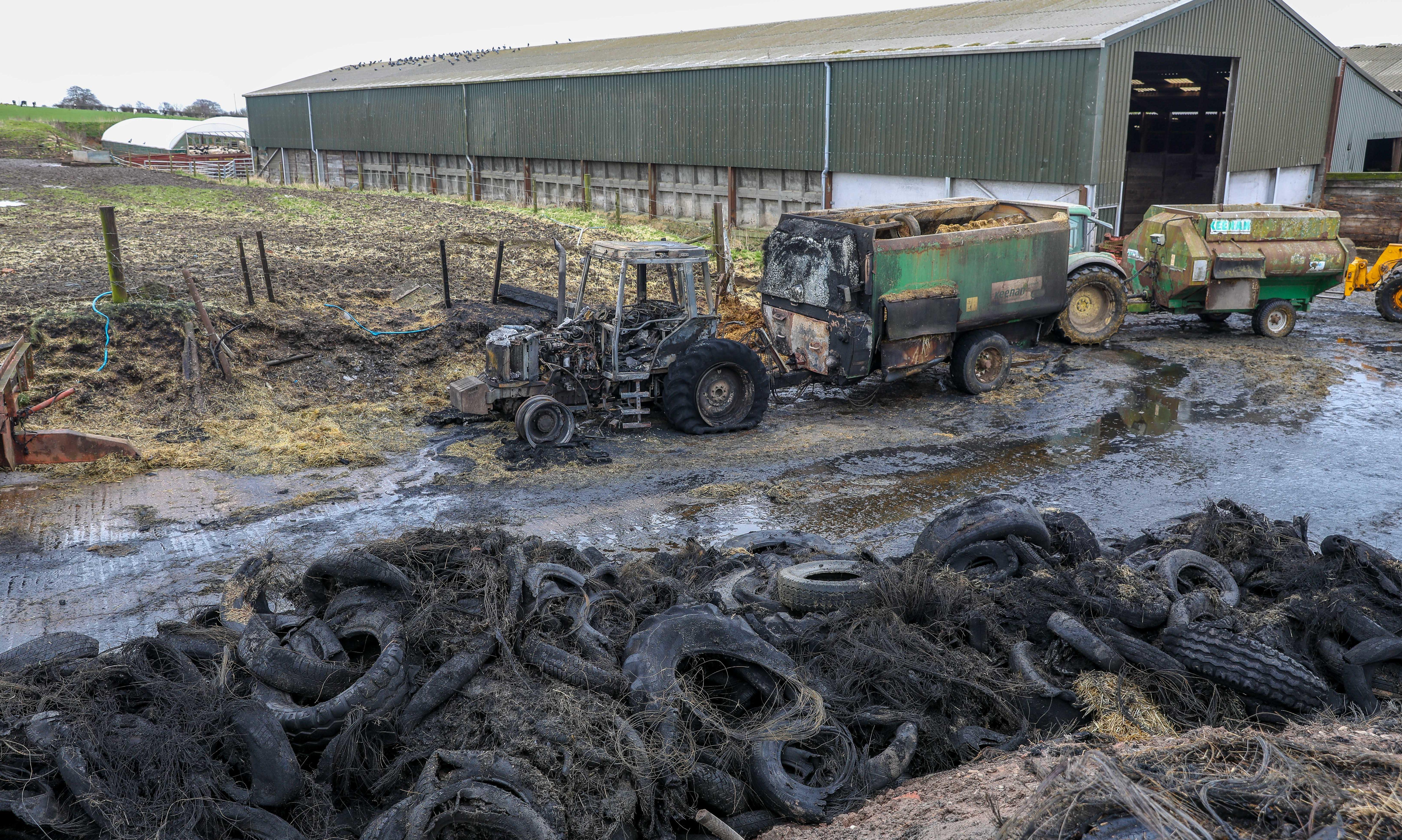 Bankhead Farm Fire aftermath