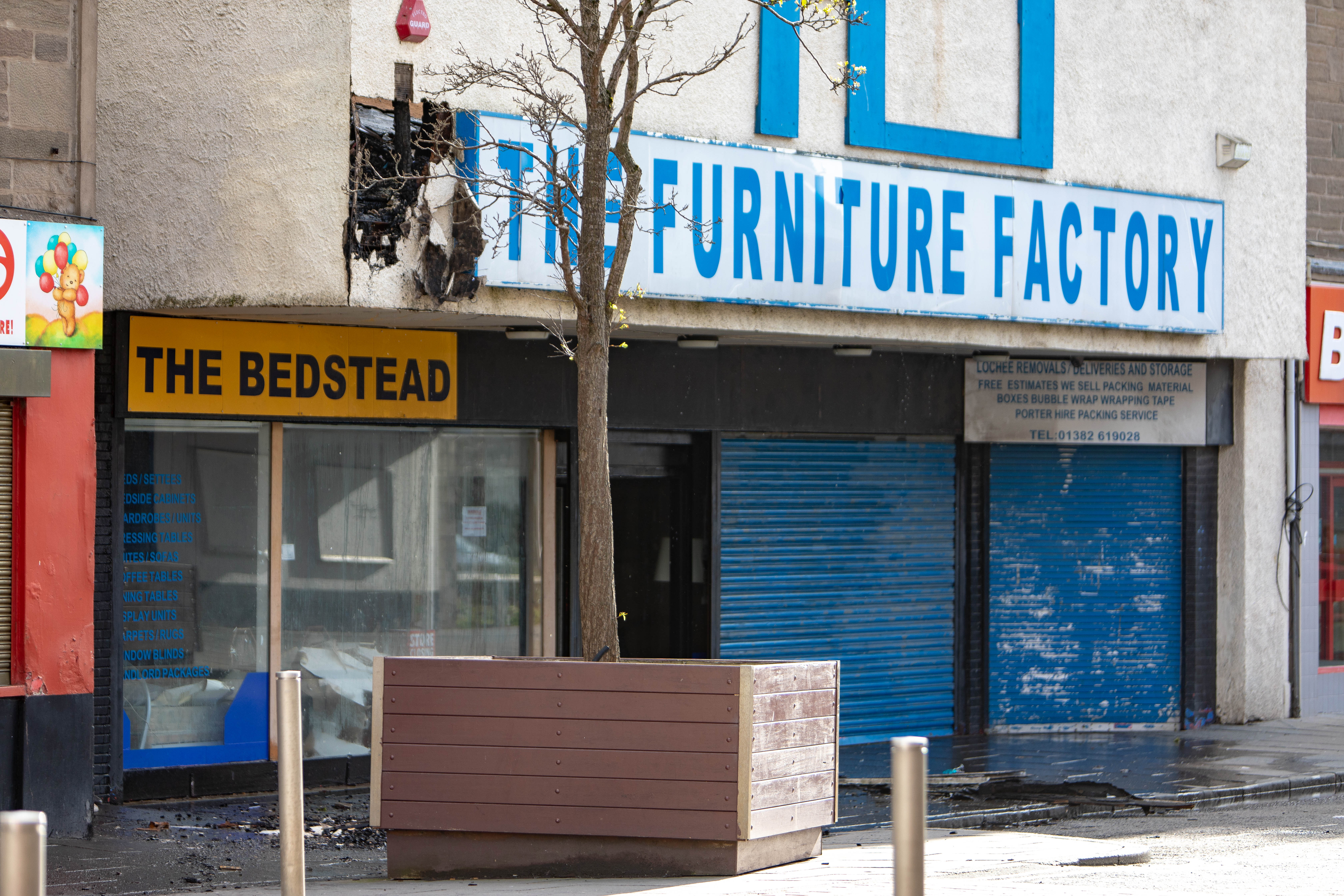 The Furniture Factory, Lochee High Street.
