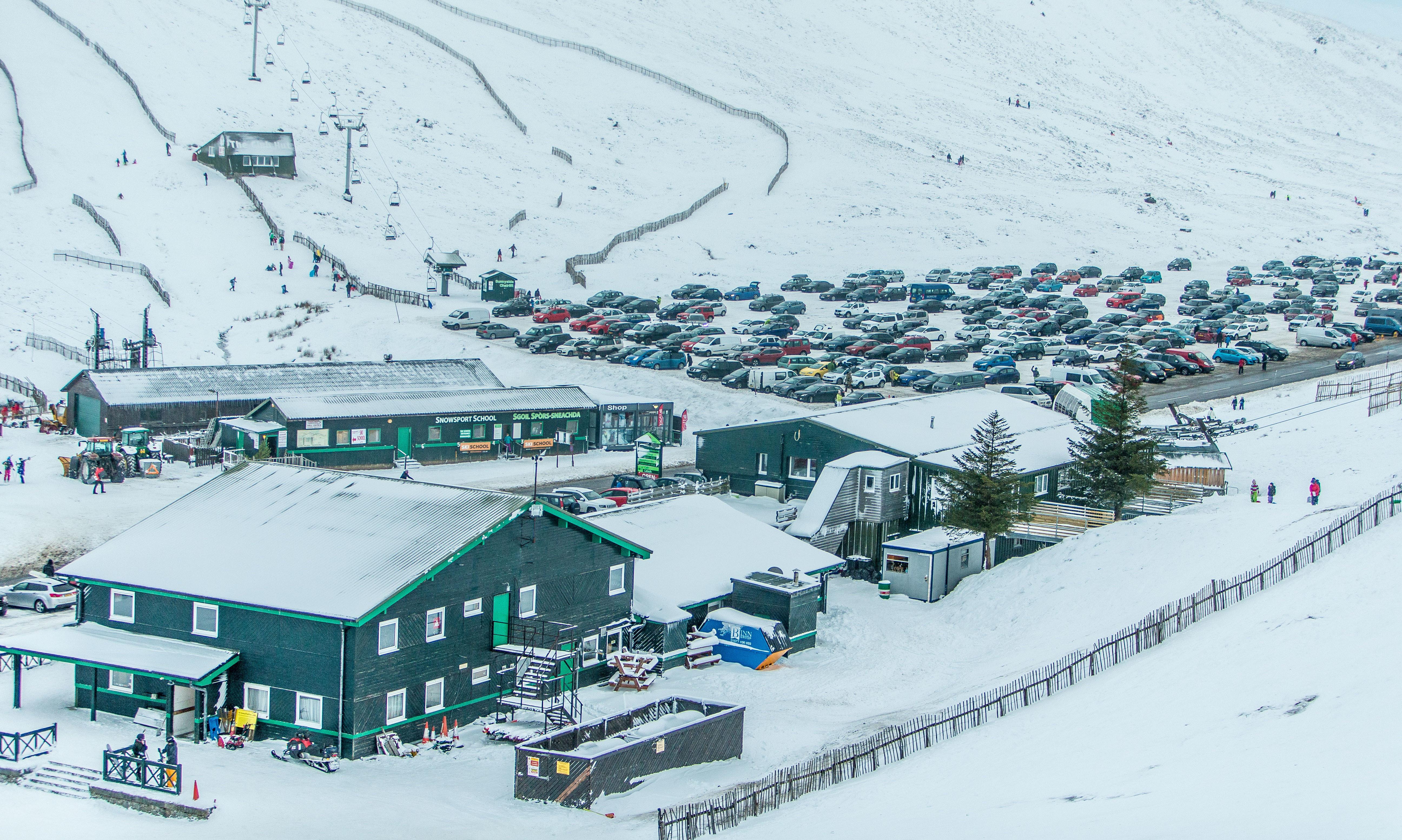 Glenshee Ski Centre in January 2018.