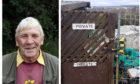 Allotment gardener Don Elder.