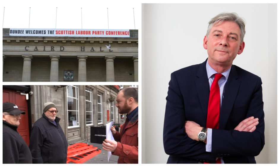 Nobody the Courier quizzed in Dundee seemed to know who Richard Leonard is.