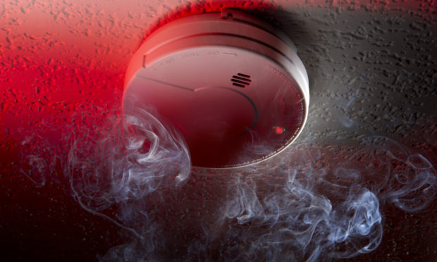 A smoke detector (stock image).