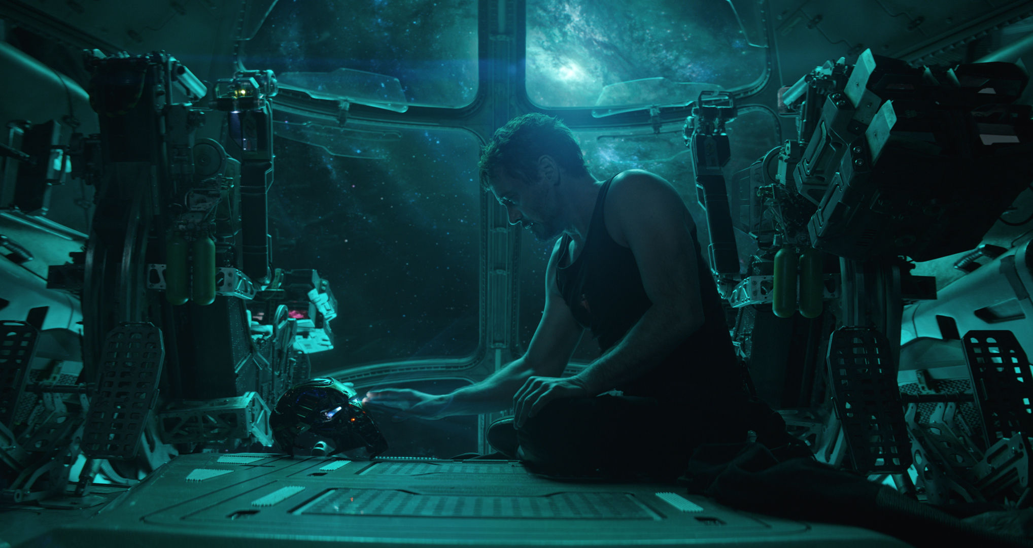 A film still from Avengers: Endgame.