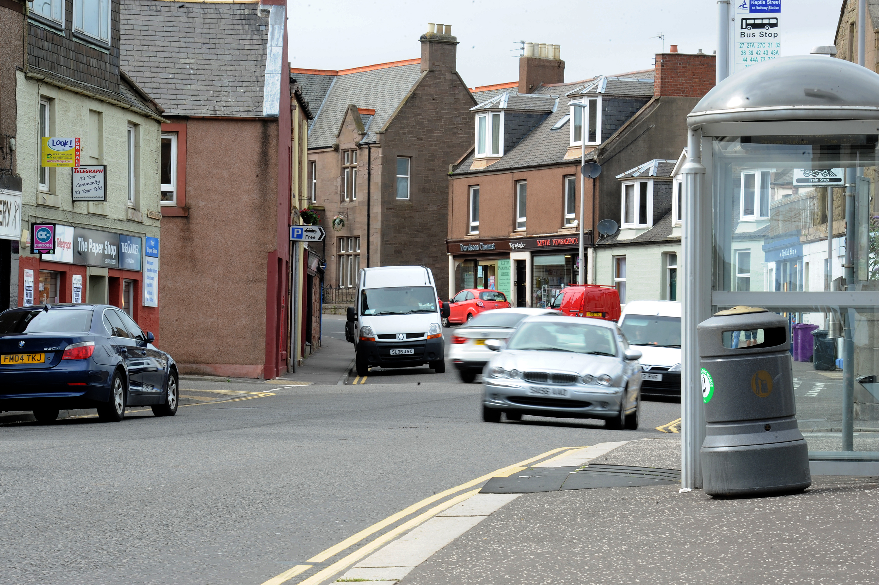 Angus councillors have approved the site for a pedestrian crossing in Keptie Street, Arbroath.