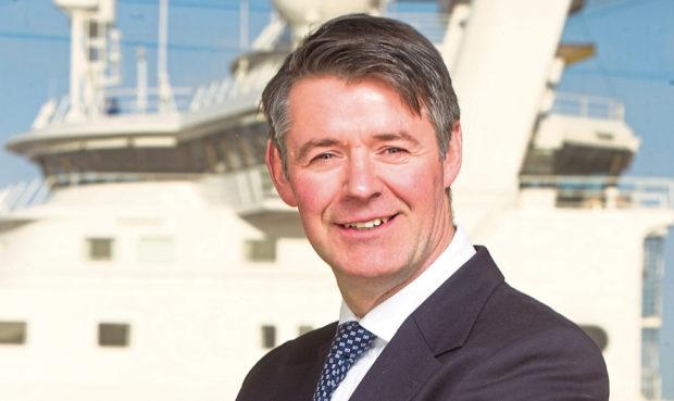 Montrose Port Authority chief executive Nik Scott-Gray