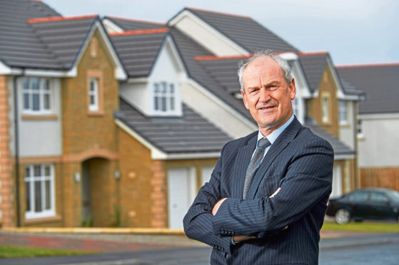 George Fraser, chief executive of Tulloch Homes.