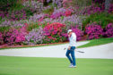 Rory McIlroy of Northern Ireland plays on No. 13 green during the final round of the Masters at Augusta National Golf Club, Sunday, April 8, 2018. (Photo by Charles Laberge/Augusta National via Getty Images)