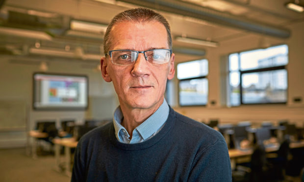 Abertay University's senior ethical hacking lecturer Colin McLean