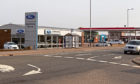 The Guthrie Bros Ford dealership in Montrose and neighbouring petrol station. Picture: Paul Reid.