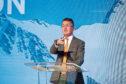 Entrepreneurial Scotland chairman Colin Robertson welcomes delegates at Gleneagles.