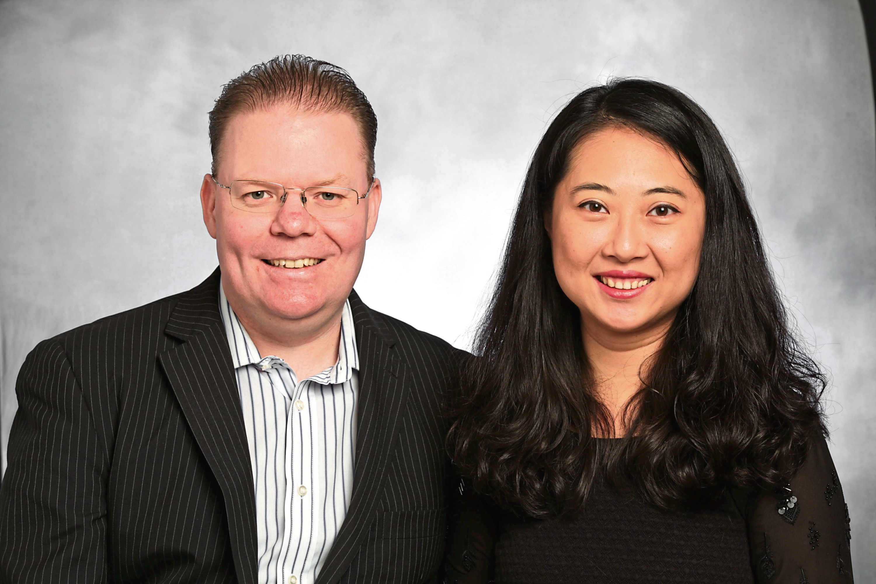 Chris Forbes and Julie Chen, founders of The Cheeky Panda