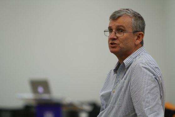 Professor Peter Stonebridge.