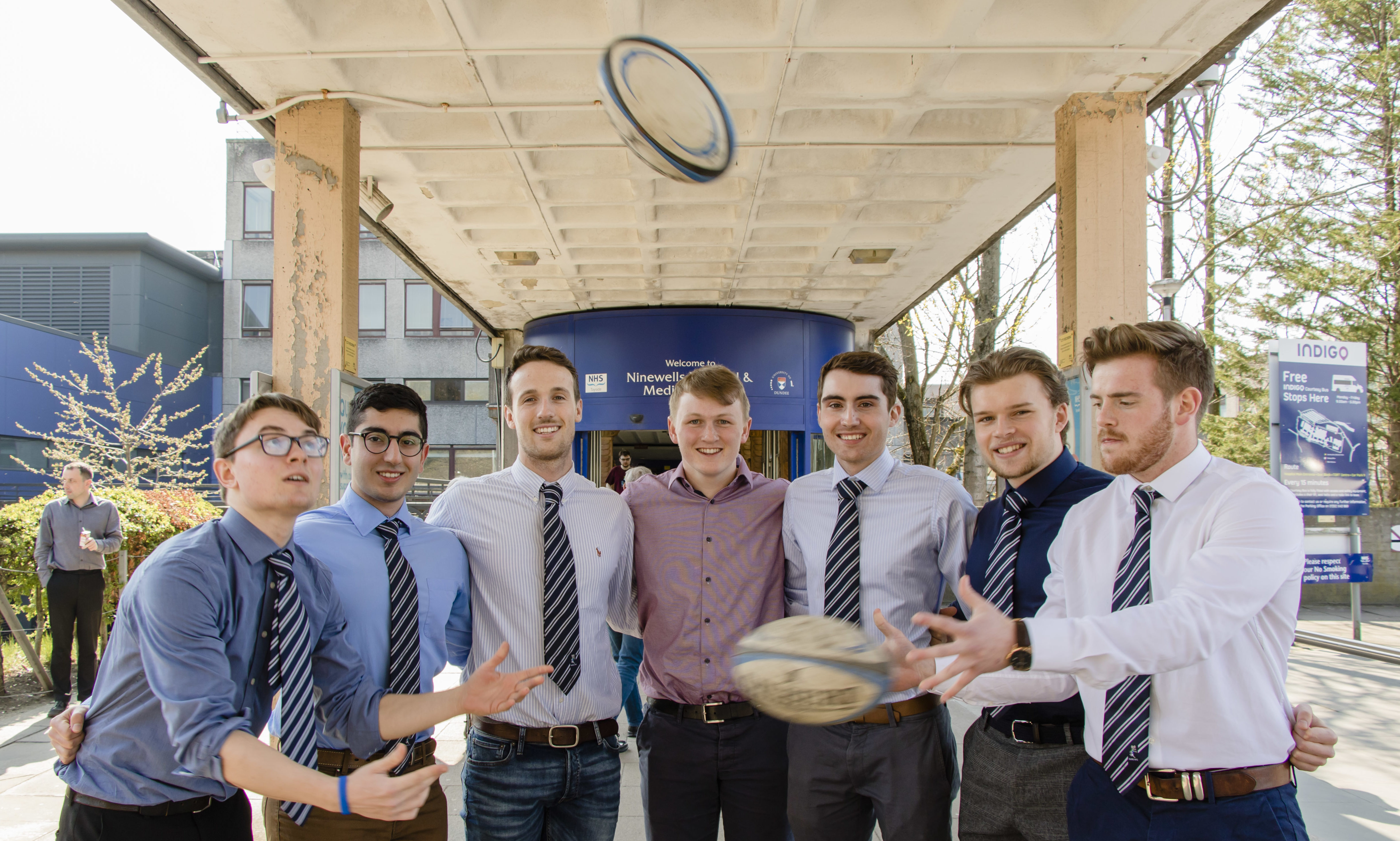 The Dundee University Medics are heading to Murrayfield.