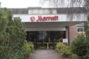 The Marriott Hotel in Dyce.