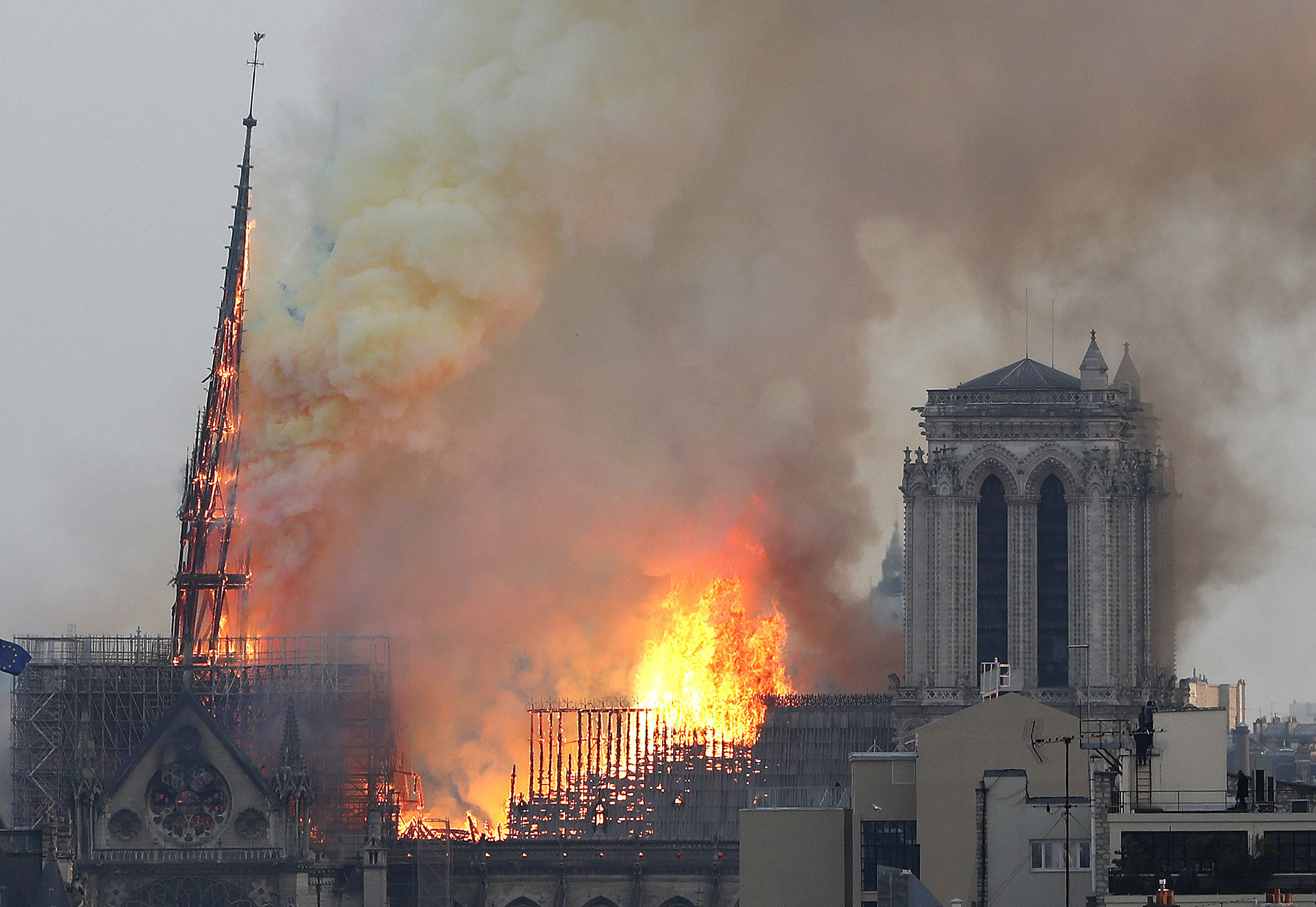 The Notre Dame blaze invites us to consider whether we'd want Edinburgh Castle rebuilt – and at what cost? – if it was struck by a devastating fire.