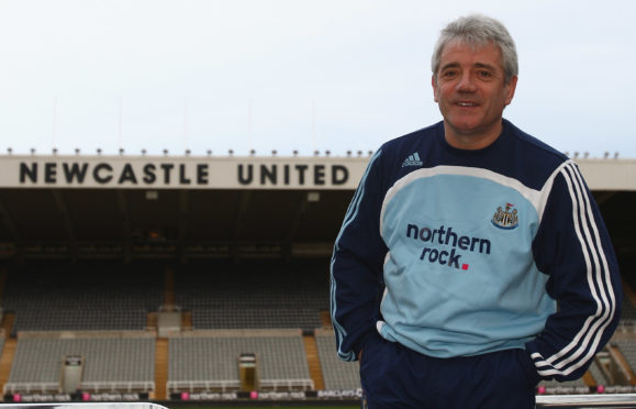 Keegan had two spells as Newcastle manager, including building the famous 'Entertainers' side of the 1990s