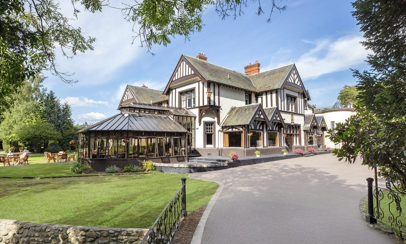 The Huntingtower Hotel, on the edge of Perth