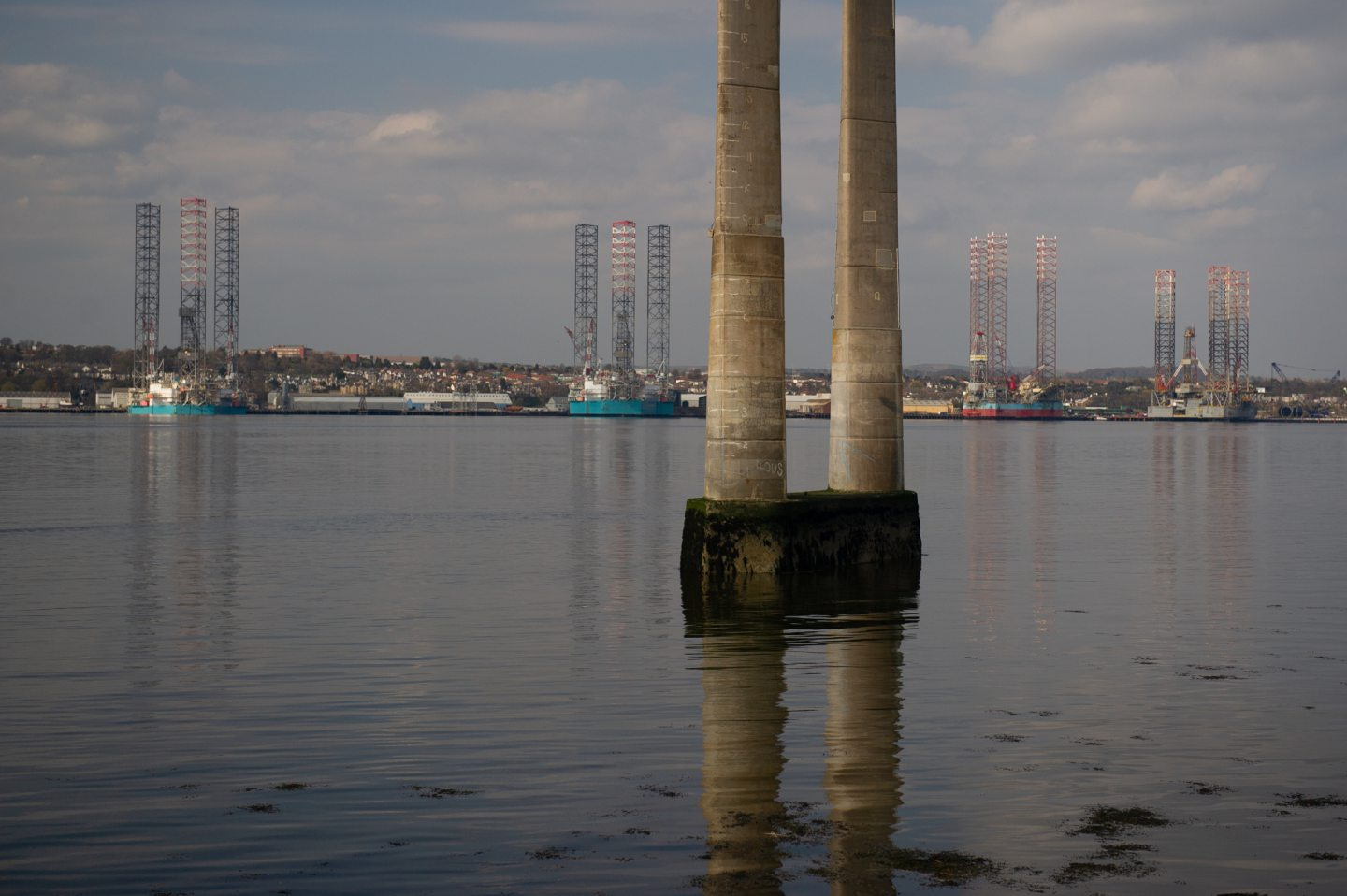 Port of Dundee from Newport.