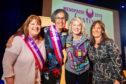 Organisers Moira MacLeod and Rachel Weiss with speakers, Kelli Jaecks and Collette Stevenson,