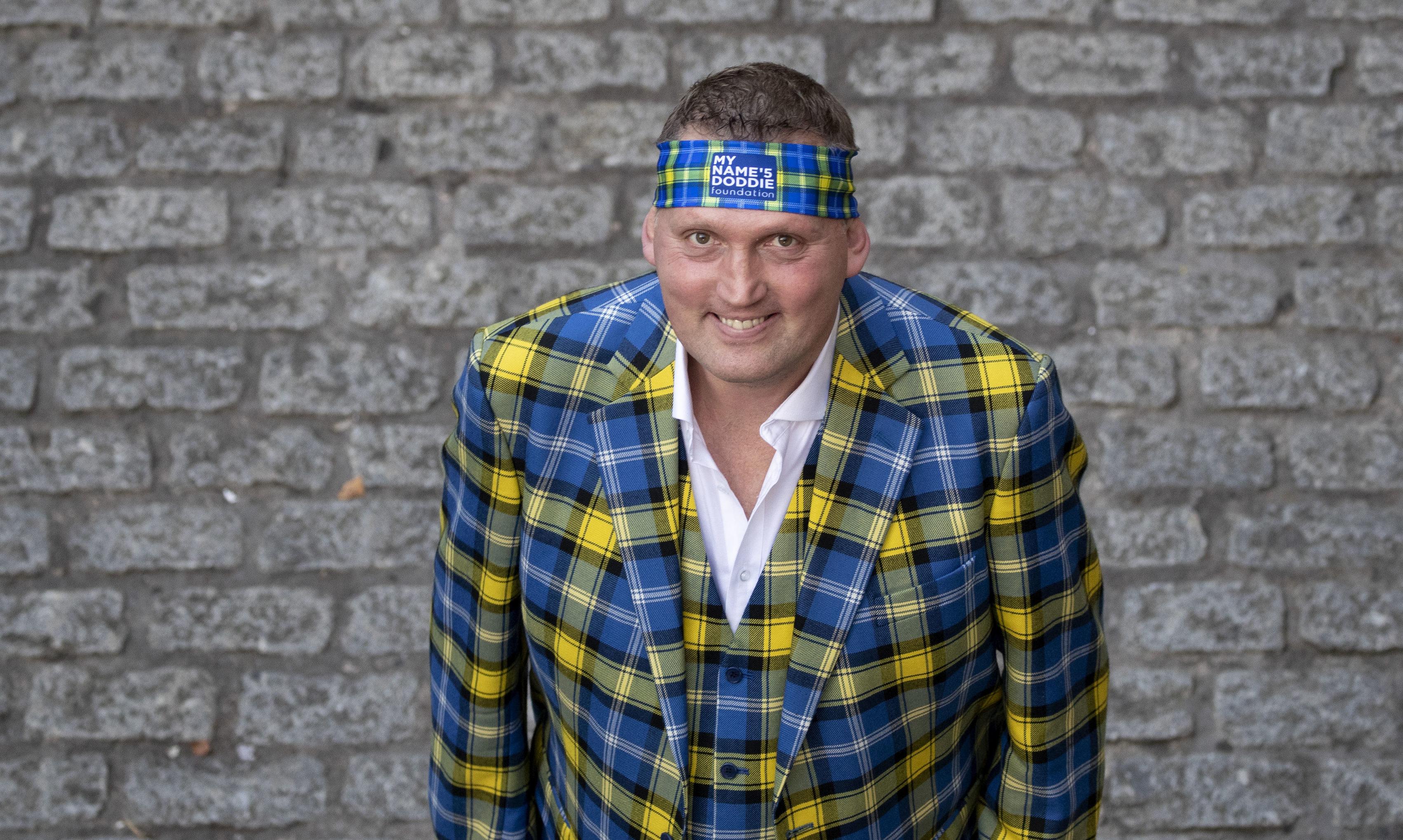 Former Scotland rugby international Doddie Weir.