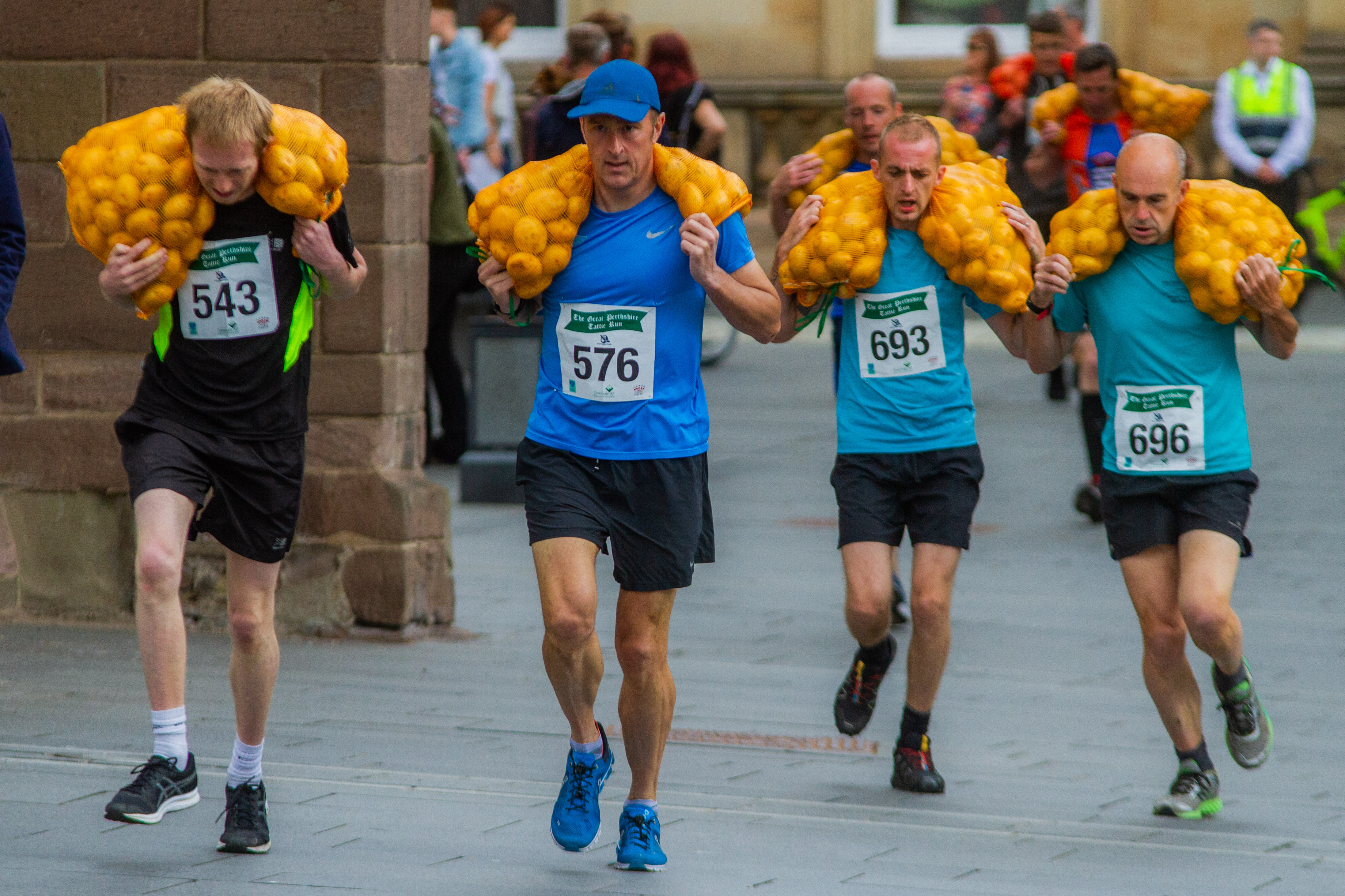 The tattie run will be back in Perth this August.