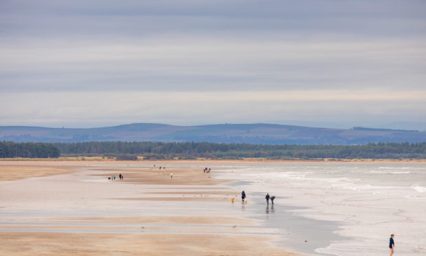 The West Sands.