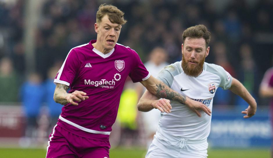 Regular football sessions will be led by former St Johnstone midfielder Patrick Cregg, left, now at Montrose.