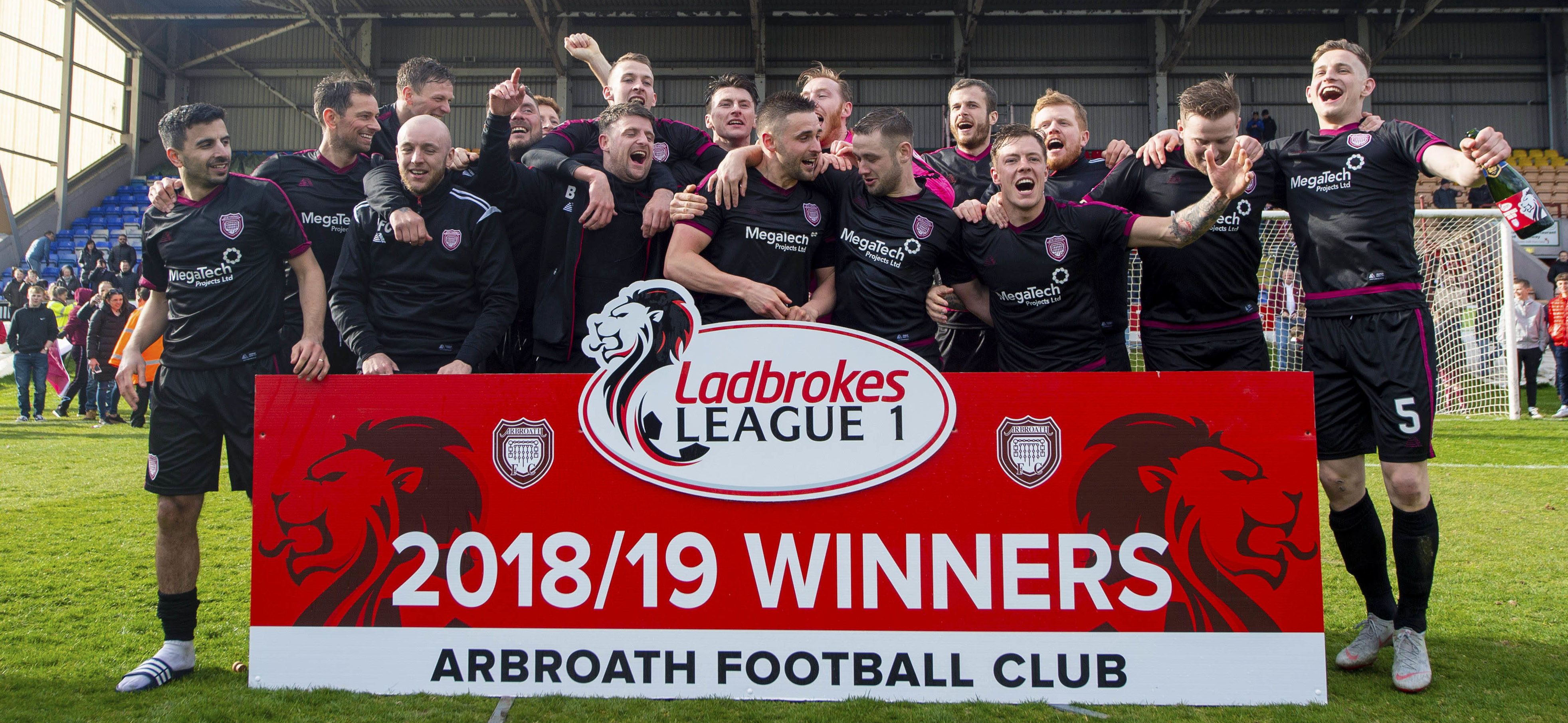 Arbroath are champions