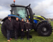 The tractor will be exhibited at summer shows to raise awareness of rural crime.