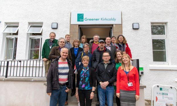Greener Kirkcaldy staff and volunteers.