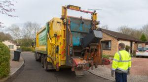 A Fife Council bin collection.