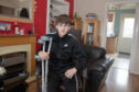 16-year-old Taylor Copland, who broke his hip after being hurled to the ground on the tagada ride at the Links Market in Kirkcaldy last week.