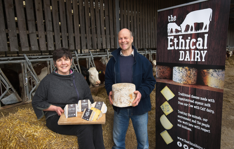 Spotlighting ethical farming: Wilma and David Finlay.