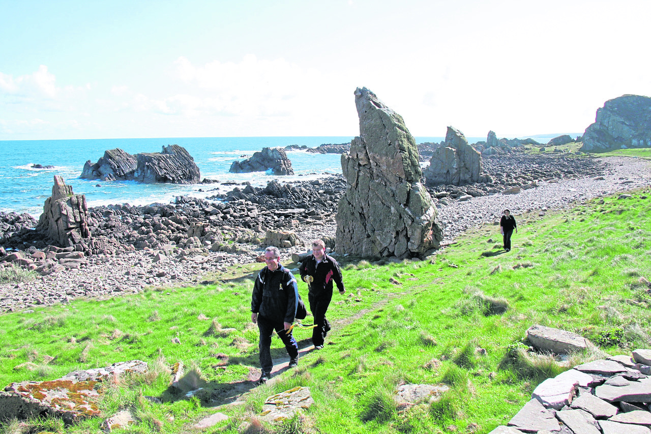 Mearns Coastal Trail Development Group, a subgroup of Visit Mearns, is focusing its efforts on restoring and maintaining the Mearns Coastal Path.,