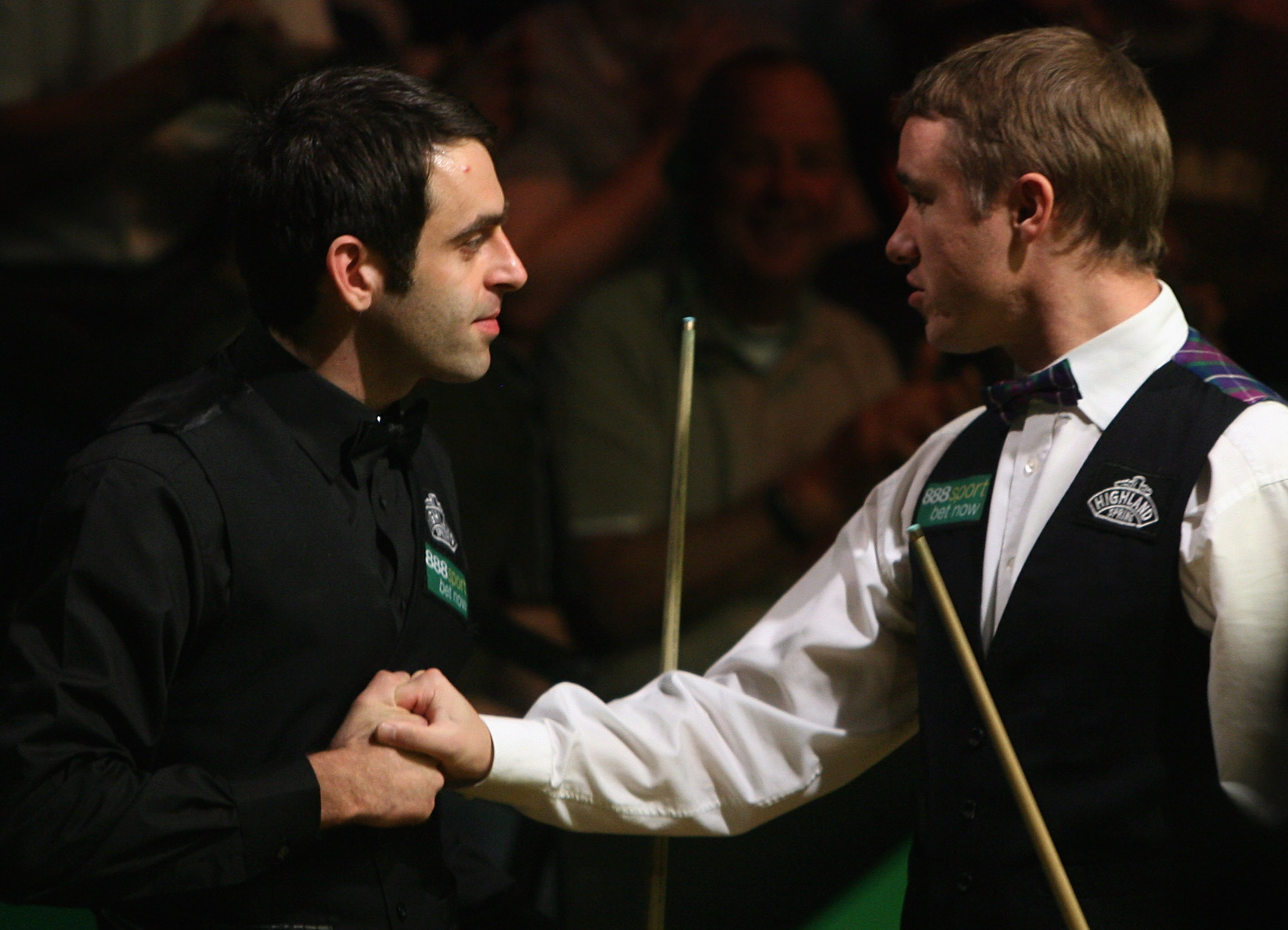Stephen Hendry and Ronnie O'Sullivan.