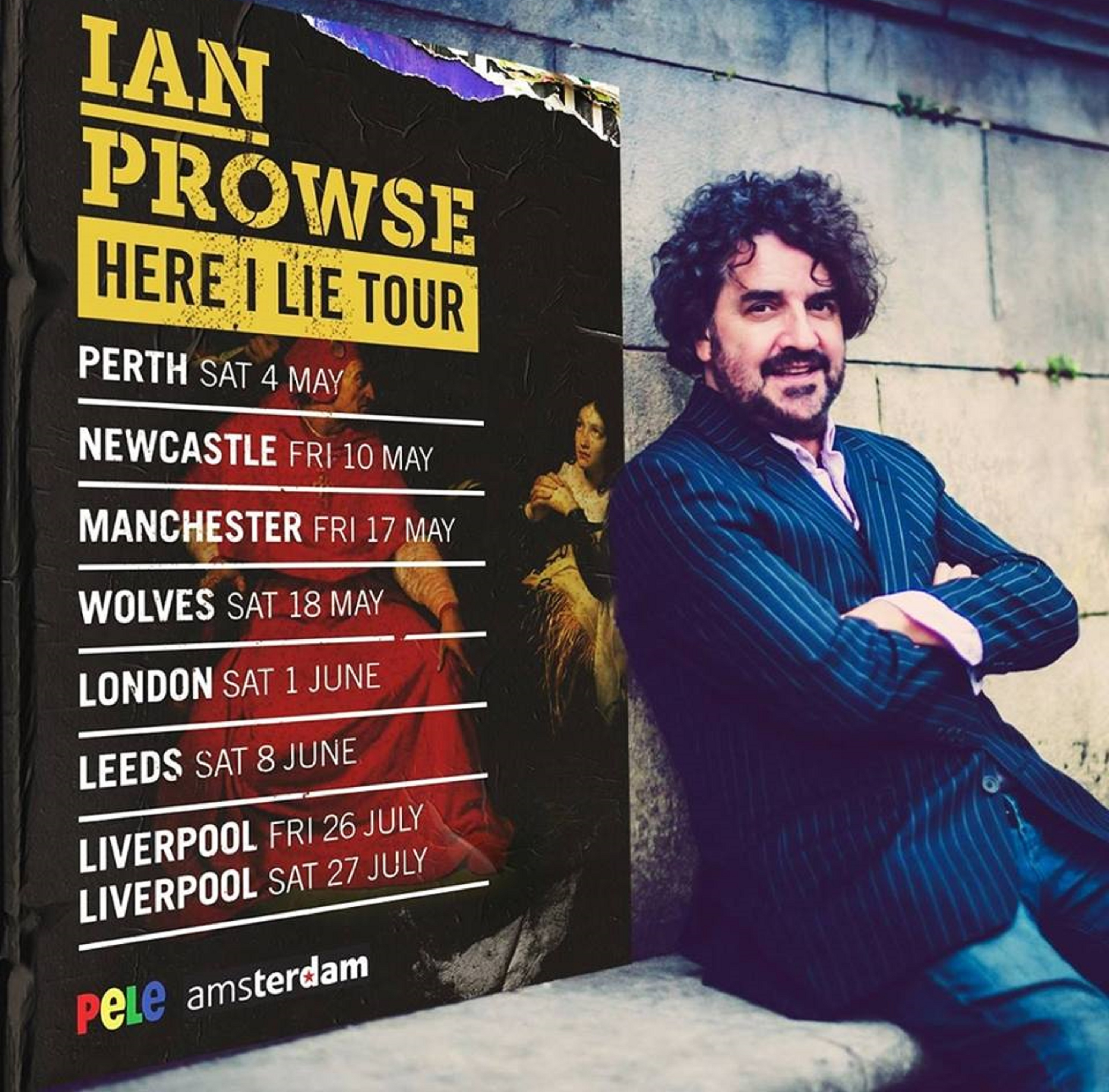 Ian Prowse's new solo album is released today.